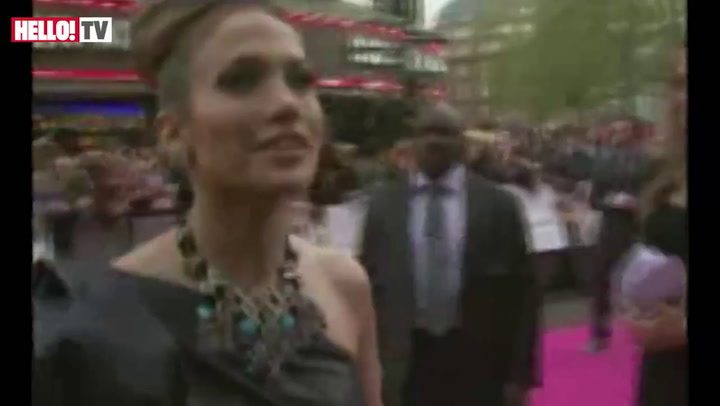 Jennifer Lopez at premiere of \'Back-up Plan\'