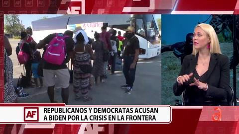 Republicanos y Demócratas acusan a Biden por la crisis en la frontera