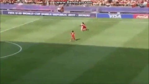 Sendel Cruz marca el gol con el que Honduras venció a Vietnam