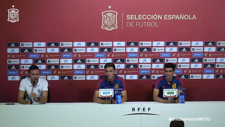 Rueda de prensa de Gerard Moreno y Pau Torres