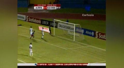 Gol de Plaza Amador al Olimpia (Concacaf 2017)