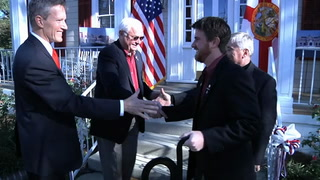 Official ribbon cutting of FSU Veterans Center