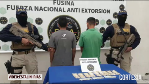 Fusina captura a dos menores de edad por extorsión en Tegucigalpa