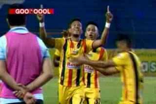 Con golazo de tiro libre Real España empata 1 - 1 ante Motagua