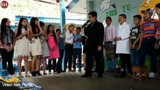 Así celebro la Escuela Cerro Grande zona 2 el día del Padre