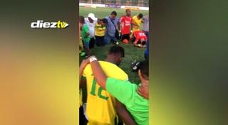 Social Sol llora el descenso y agradecen a Dios su estadía en la Primera División de Honduras