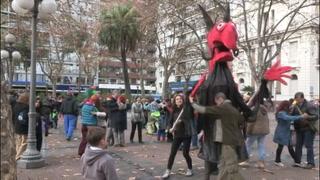 Con arte, Uruguay muestra problemática de desamparados