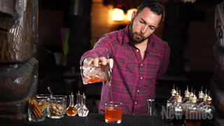 Under Tow Owner Jason Asher Makes Three Tiki Cocktails
