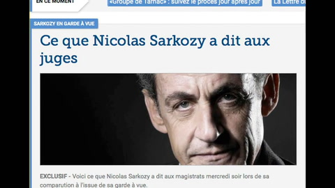 Sarkozy denuncia