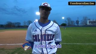 Lane Duiguid on One Hitter Against Hopkinsville