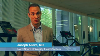 Dr. Alleva discusses the importance of stretching--both before and after a workout--and making your stretches as sports-specific as possible.