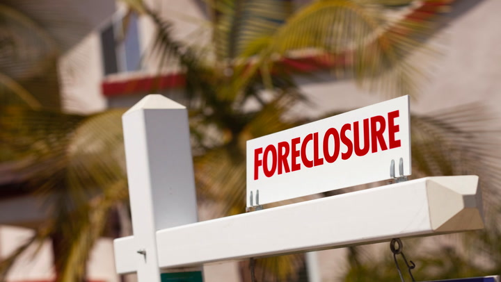 What happens after foreclosure sale date in Perth