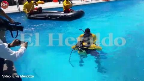 Escuadrón de rescate capitalino dará auxilio en las playas de Tela