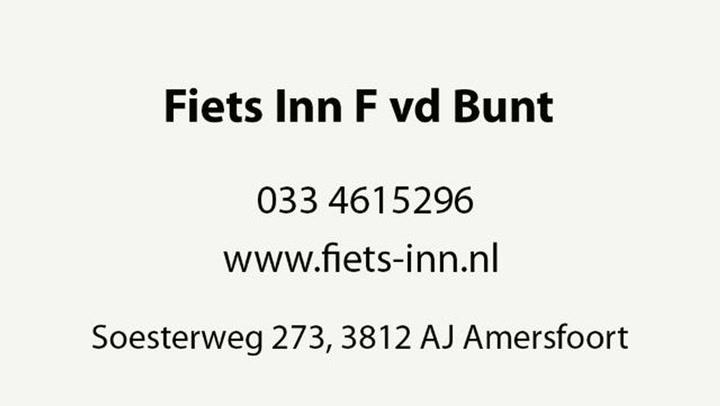 Bunt Fiets Inn F vd - Video tour