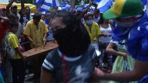 Manifestantes en Nicaragua desafían ofensiva de Ortega