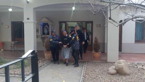 Trasladaron a Mendoza la monja que estaba prófuga, acusada de abusos a menores