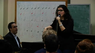 Jane Monheit inspires many at master class