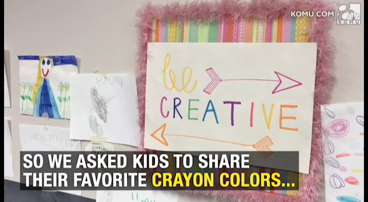 Color this day happy; it's National Crayon Day