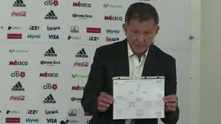 Osorio llama a 32 jugadores