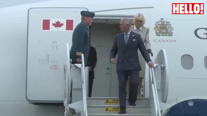 Prince Charles and Camilla arrive in Canada for a four-day tour