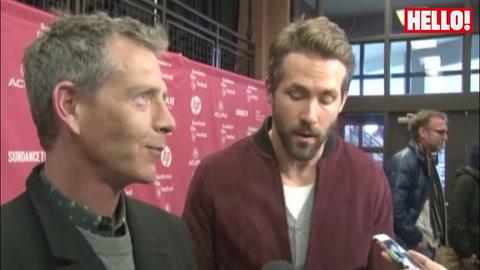 Ryan Reynolds talks about new film Mississippi Grind at Sundance Film Festival