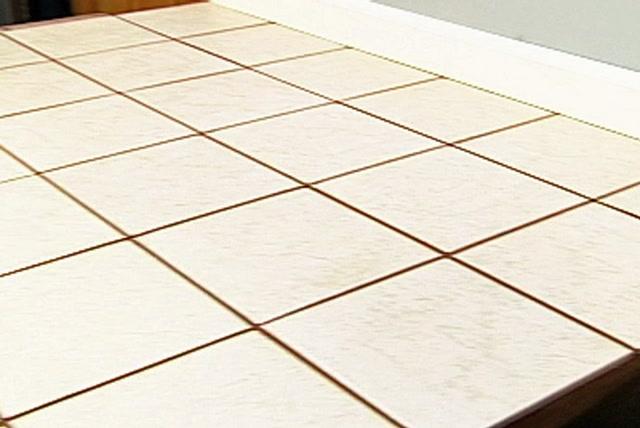 Ceramic Tile Over Vinyl Flooring