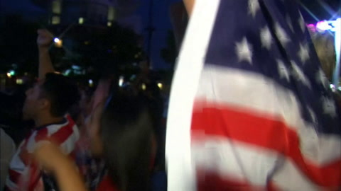 Video: Delight and despair for USA and Japan fans