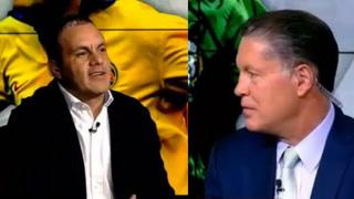 Cuauhtémoc Blanco y Ricardo Pelaez discuten en programa de televisión