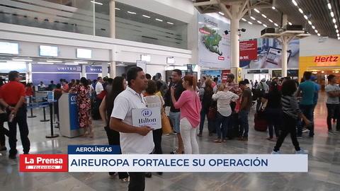 AIREUROPA FORTALECE SU OPERACIÓN