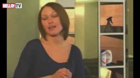 Emma Willis gets the smooth, shiny look