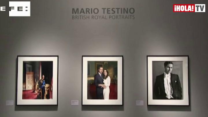 Mario Testino expone en Londres sus últimos retratos de la Familia Real británica