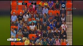 Se va el fuido eléctrico en el estadio donde se juega Motagua-Tijuana