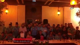 Milli Takım 'Bağdat' şarkısıyla coştu
