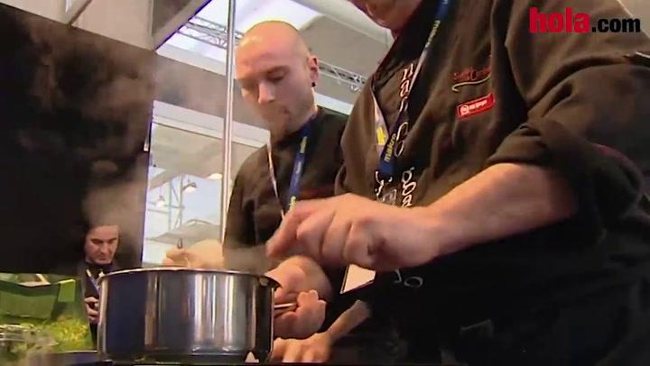 Los mejores cocineros muestran las nuevas tendencias gastronómicas en Madrid Fusión