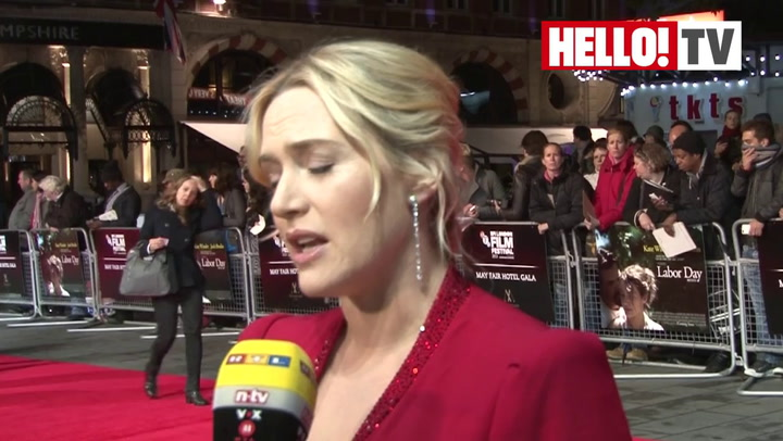 Radiant Kate Winslet talks maternal instincts at the premiere of Labour Day