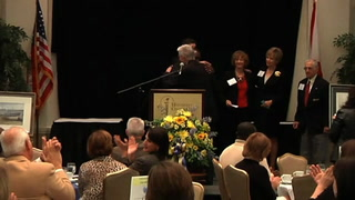 D'Alemberte and Palmer Honored for Philanthropy