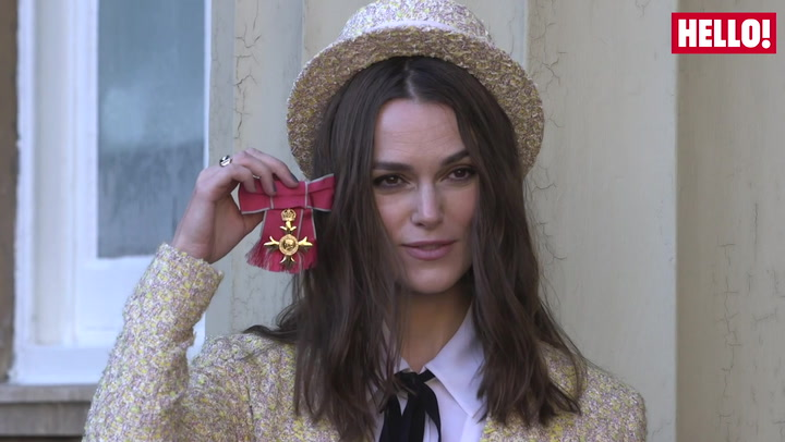 Keira Knightley receives OBE