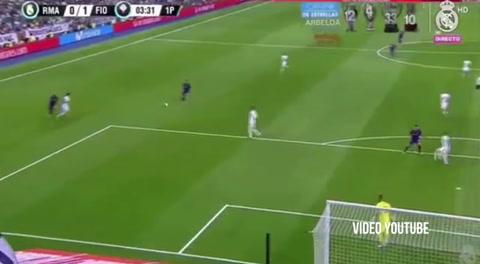 Real Madrid 2 - 1 Fiorentina  Trofeo Santiago Bernabéu