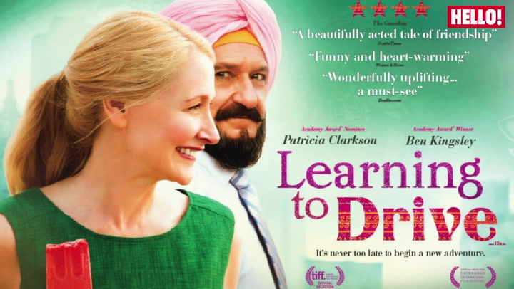 Watch Patricia Clarkson and Sir Ben Kingsley in this clip from Learning To Drive