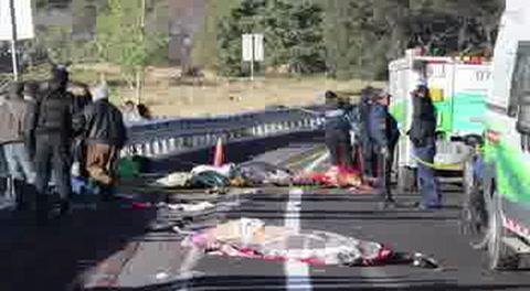 México: 11 muertos en accidente tras visitar Virgen de Guadalupe