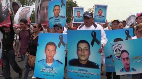 El Gobierno de Nicaragua realiza una caminata por las