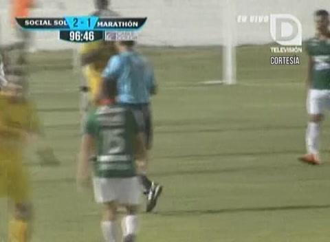 La reacción del Manuel Keosseián tras el final del partido
