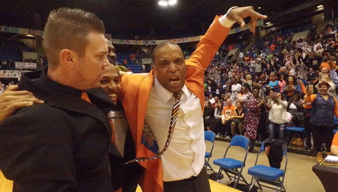 The Celebration: Lanphier's Instant Reaction To A City Title