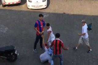 ¡Batalla campal por el clásico Real Madrid-Barcelona en Centroamérica!