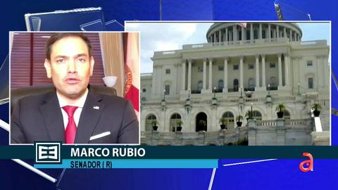 En Exclusiva el Senador Marco Rubio repasa la política de la administración Biden