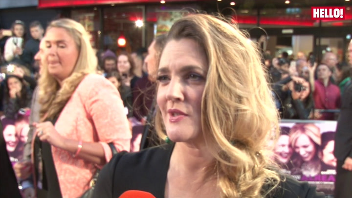 Drew Barrymore and Toni Collette chat with HELLO! at the Miss You Already London Premiere.mp4