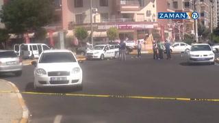 Diyarbakır'da polis aracına silahlı saldırı: 1 polis şehit, 1 polis ağır yaralı