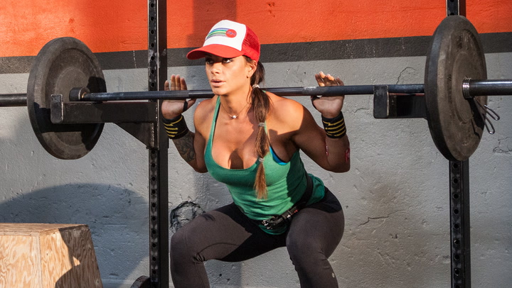 Ashley Horner's Full-Body Squat Rack Workout