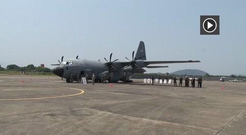 Llega avión cazahuracanes a Honduras