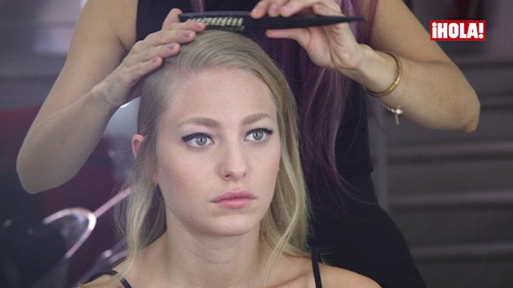 Juan Vidal nos muestra cómo es el peinado y el maquillaje que ha presentado en su desfile de Fashion Week Madrid